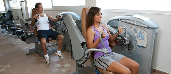 Asterias Beach Hotel: Fitness Center