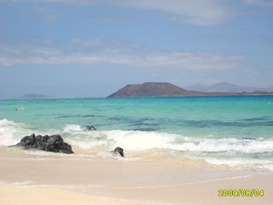 Fuerteventura, Spanien:                   la magnifica spiaggia di corallejo