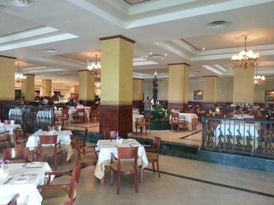 Grand Bahia Principe Jamaica:                   This one is actually inside of the resort. Really good food, try Jerk Chicken.