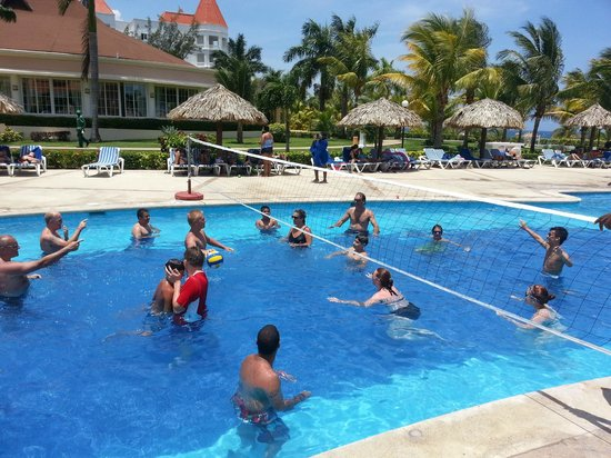 Grand Bahia Principe Jamaica:                   Every has fun at the Grand Bahia Principe, we played this game for hrs.