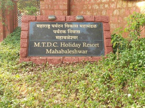 MTDC Holiday Resort Mahabaleshwar:                   Entrance of MTDC Resort Mahabaleshwar