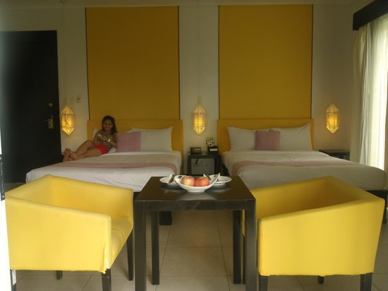 Club Punta Fuego:                   Room 7A - Bed