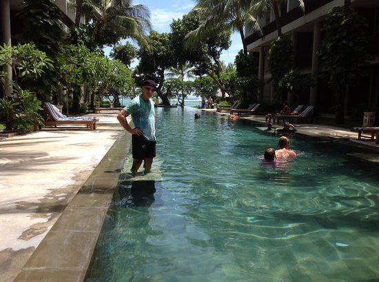The Oasis Beach:                   The pool is amazing