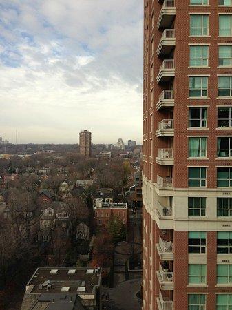 Park Hyatt Toronto:                                     roomview