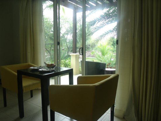 Club Punta Fuego:                   Room 7A - Sitting Area to Veranda