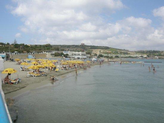 Mellieha Holiday Centre : The beach