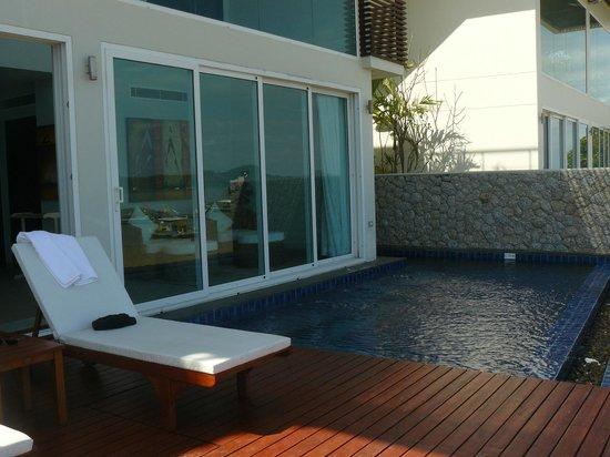 Serenity Resort & Residences Phuket: notre piscine apres midi
