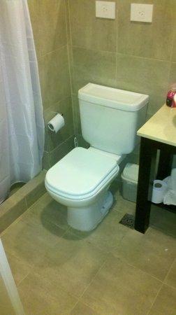 Tempora Rent:                   Baño mínimo y SIN bidet