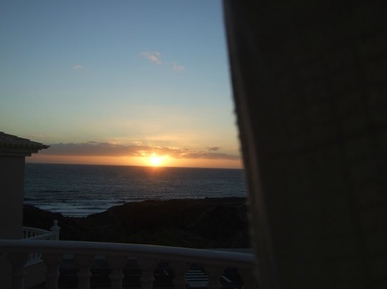 Villa Las Dunas:                   Sunrise from room