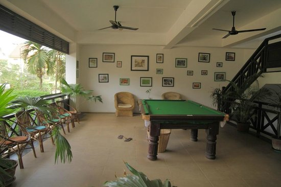 The Siem Reap Hostel:                   pool room