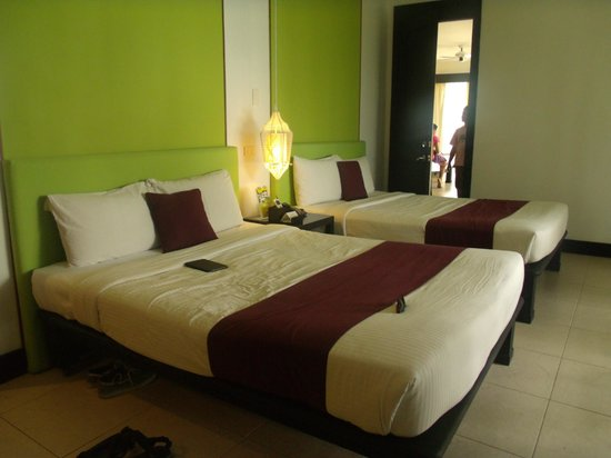 Club Punta Fuego:                   Room 7B - Bed