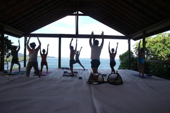 Paya Bay Resort:                   Morning yoga.