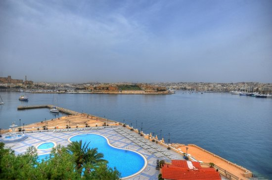 Excelsior Grand Hotel: Excelsior Hotel Malta Harbour View