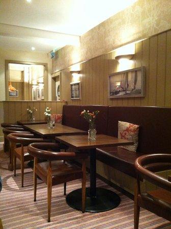Seacroft :                   Comfy dining