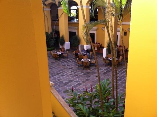 كوستاريكا ماريوت هوتل سان جوزيه:                   center area                 
