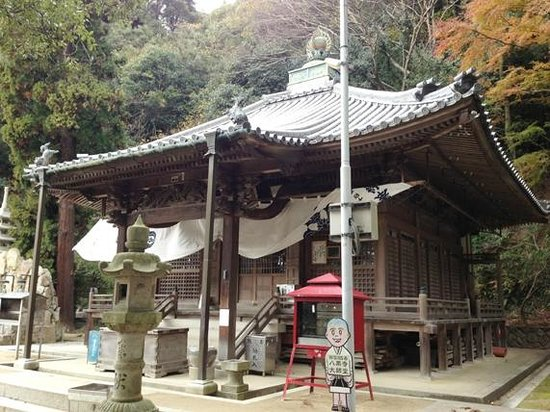 Yakuriji Temple:                   大師堂