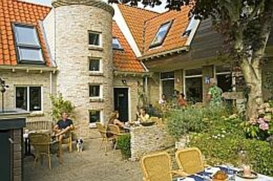 Bed & Breakfast Torenzicht: Terras