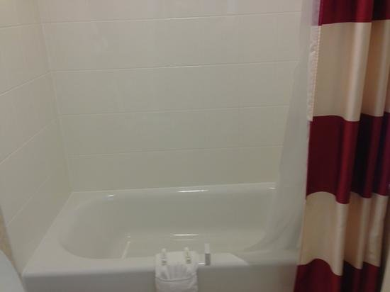 Residence Inn Clearwater Downtown: shower