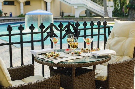 Hotel Oreanda: Oreanda Restaurant summer terrace