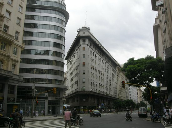 Hotel NH Buenos Aires Latino: The hotel to the left