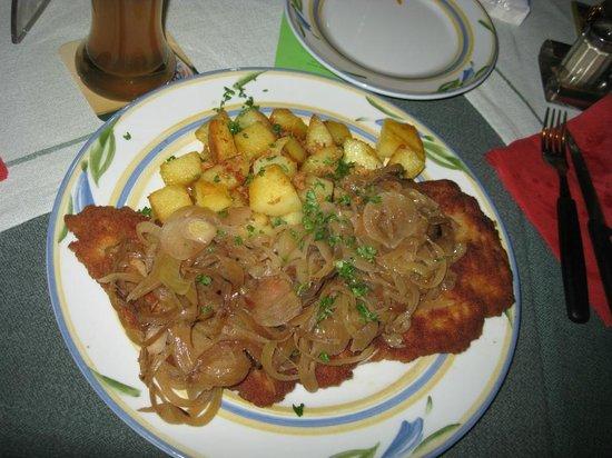Eichbaum Tresen:                   Zwiebelschnitzel