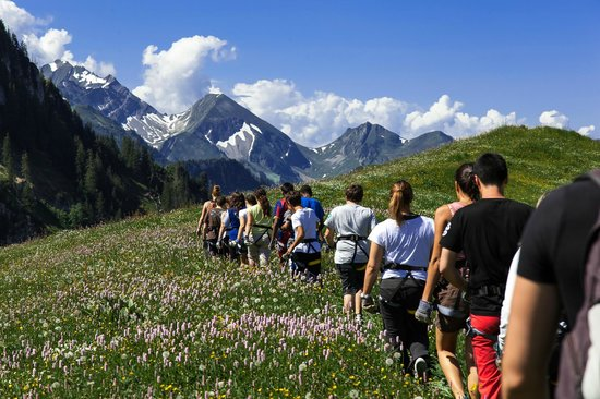 Charmey, Sveits: Tyrolienne