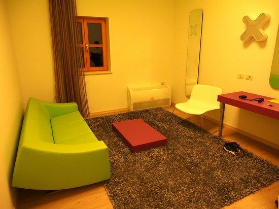 Hotel Velanera:                                     Living area