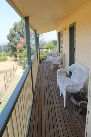 Dalblair Bed and Breakfast: Lovely balcony