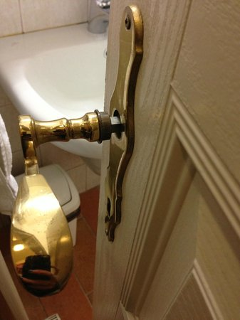 Hotel Praga 1:                   Bathroom had a broken handle, and no lock