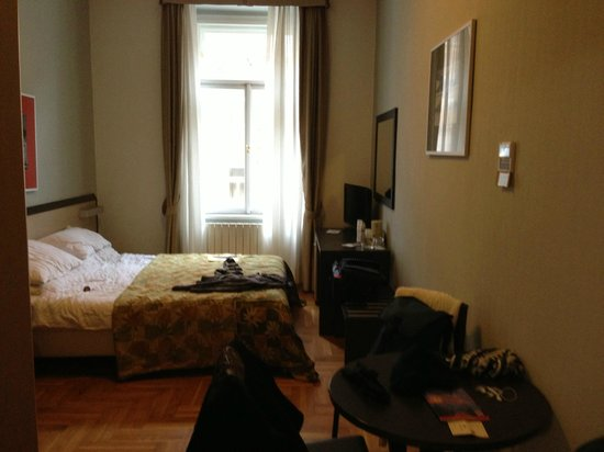 Hotel Praga 1:                   Room from doorway