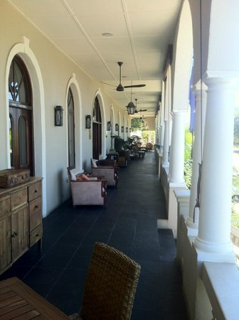 The Royal Hotel:                   Longest stoop south from Limpopo