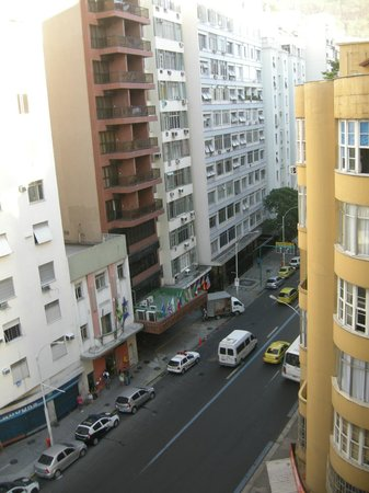 Rio Design Hotel :                   View from the room