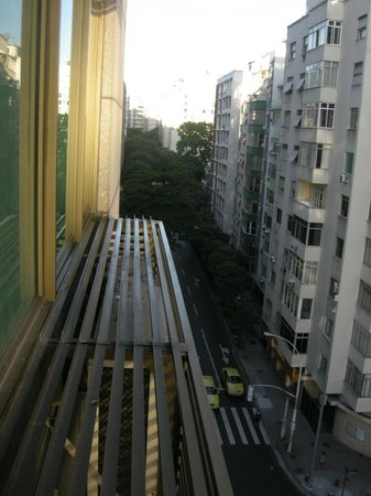 Rio Design Hotel:                   View from the room