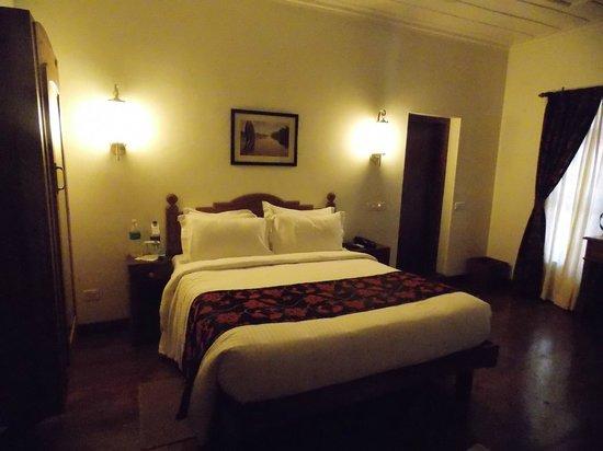 Triveny River Palace:                   The rooms
