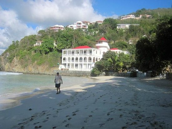 Wonderful walking beach picture of sterling house for Sterling house