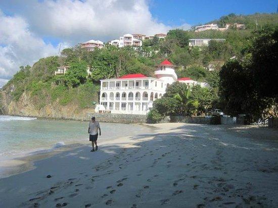 Sterling House:                   Wonderful Walking Beach