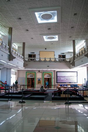 Inside the Brunei Museum