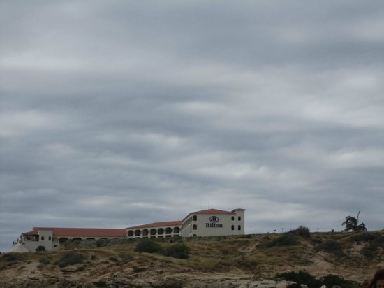 Hilton Los Cabos Beach & Golf Resort:                   hotel from beach