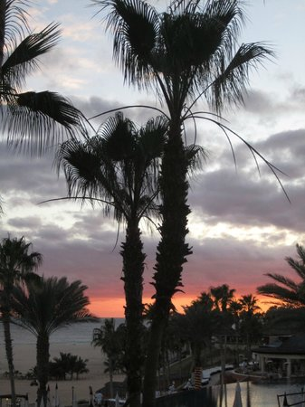 Hilton Los Cabos Beach & Golf Resort:                   Sunset