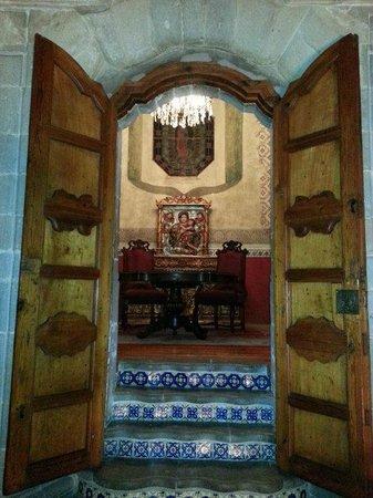 La Casa de la Marquesa:                   sitting room on the 2nd floor of hotel