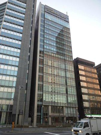 ホテル龍名館東京,                   外観です