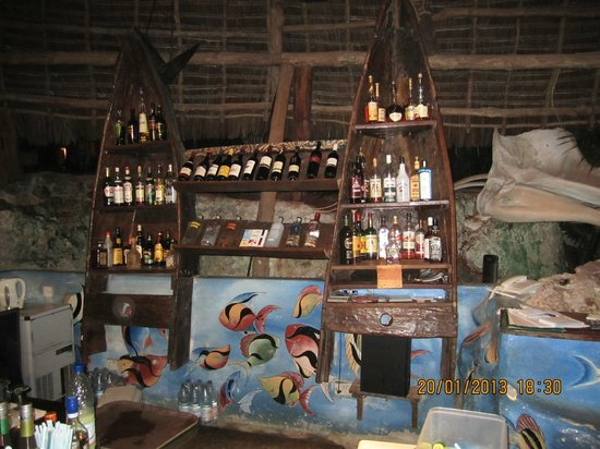 Matemwe Lodge, Asilia Africa: Le bar