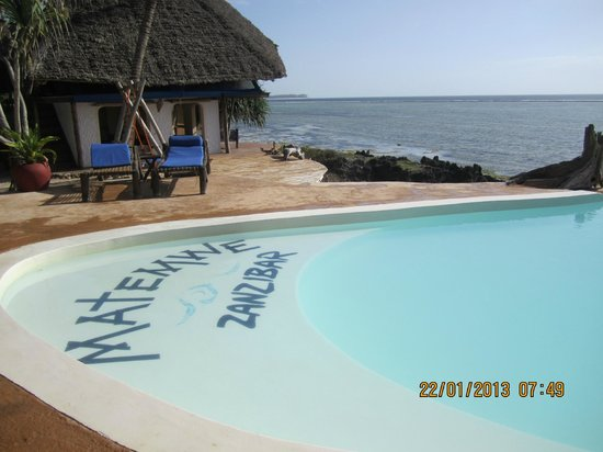 Matemwe Lodge, Asilia Africa: La piscine