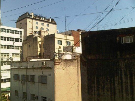 Hotel Suites Catalinas:                   Blick aus dem Fenster