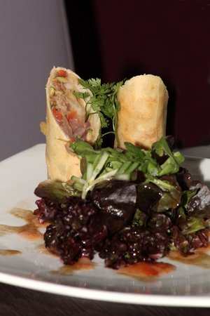 Penleys Cafe and Bistro: Duck Spring Roll
