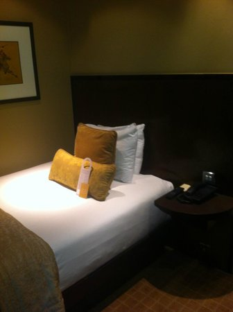 Radisson Blu Edwardian Grafton Hotel:                   Small but comfy