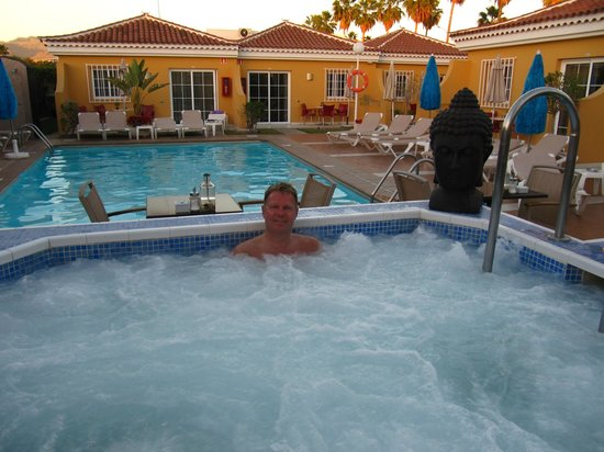 Club Torso Gay Resort:                   After sunset going in the big jacuzzi with a drink....how nice!