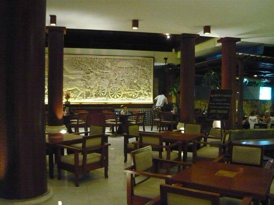 Bali Rani Hotel: Dining area