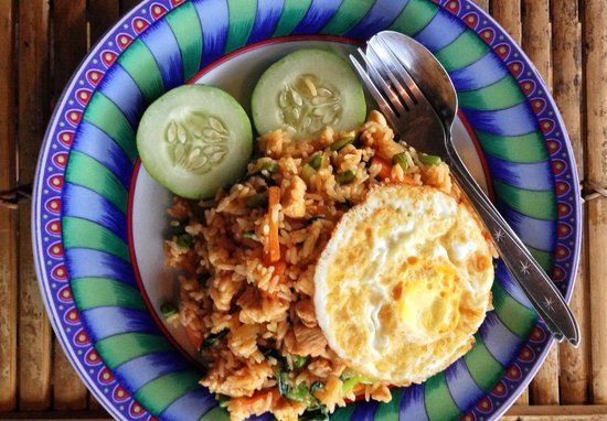 Ruby's Cafe:                   Nasi Goreng Special... Very nice... Rp20000