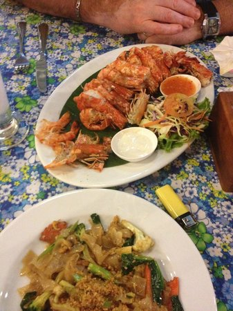 Sweet and Sour:                   gambas